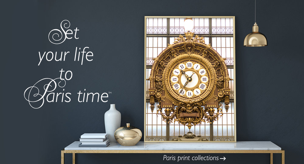 Musee d'Orsay Gilded Clock