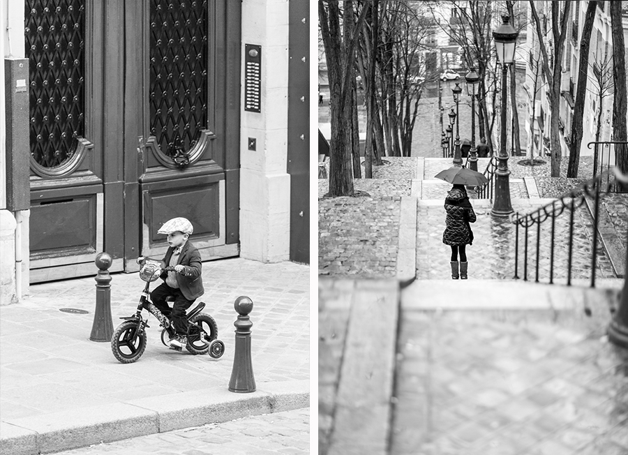 Tricycle and Montmartre steps.jpg
