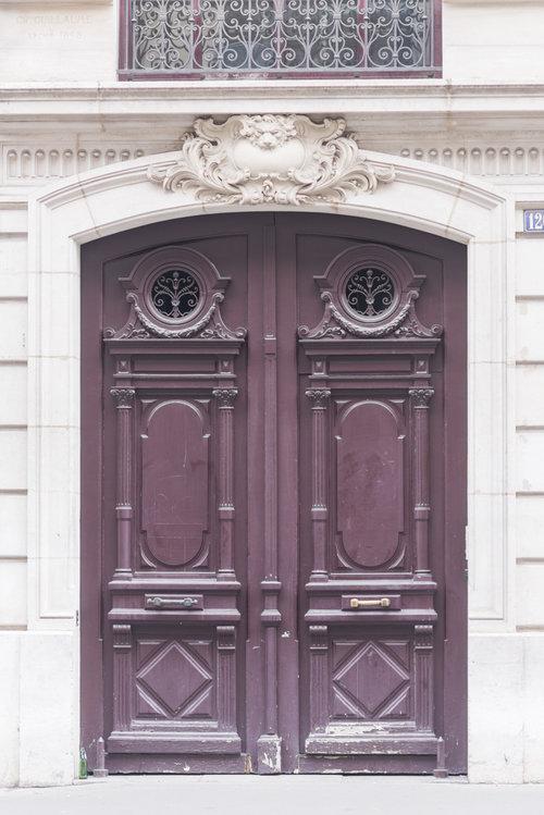 Prints of Paris doors, doorways, door hardware and details ...