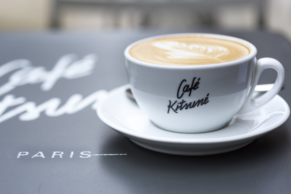The Café Kitsumé is one of the newer and trendier cafés. Great coffee and a great place to sit and watch life go by in the Palais Royal gardens.