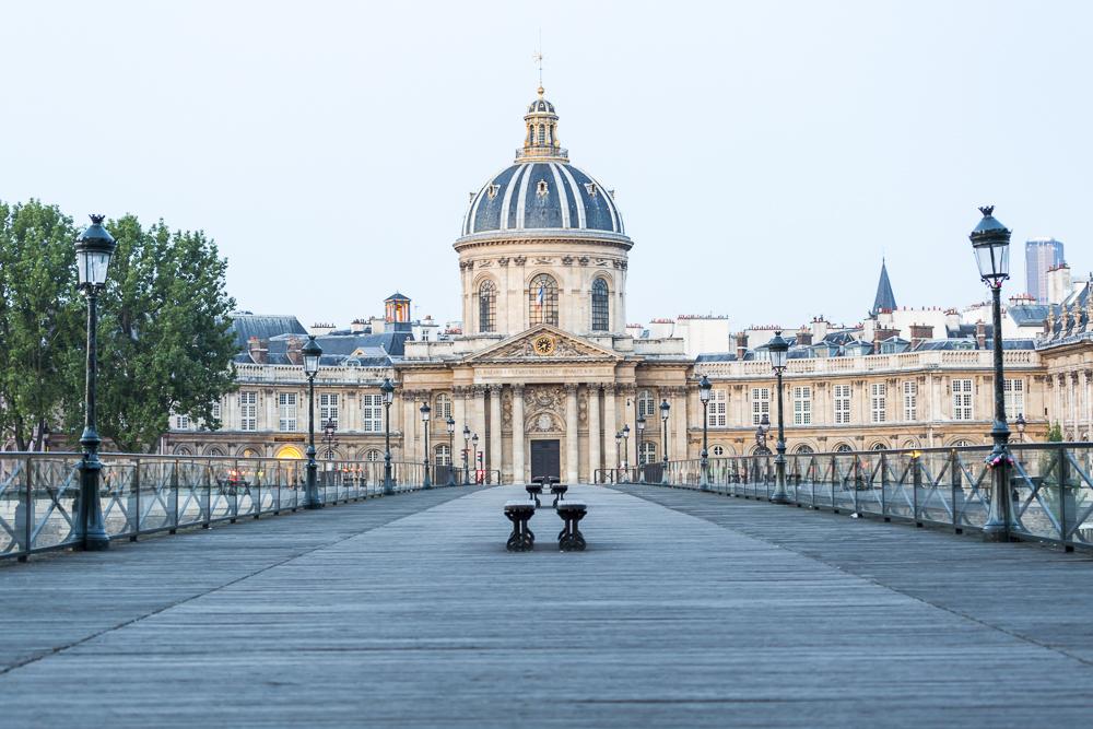 Pont des Arts and Institut de France