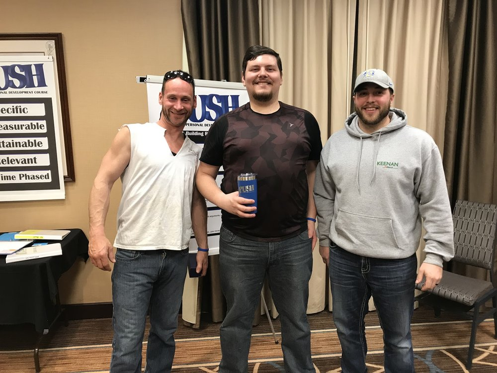 Sioux Falls Session 2 April 10,2018 Awards Nick Peterson, Reece Fulton, Tyson Ronne