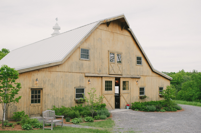 reception barn at Oak Hill