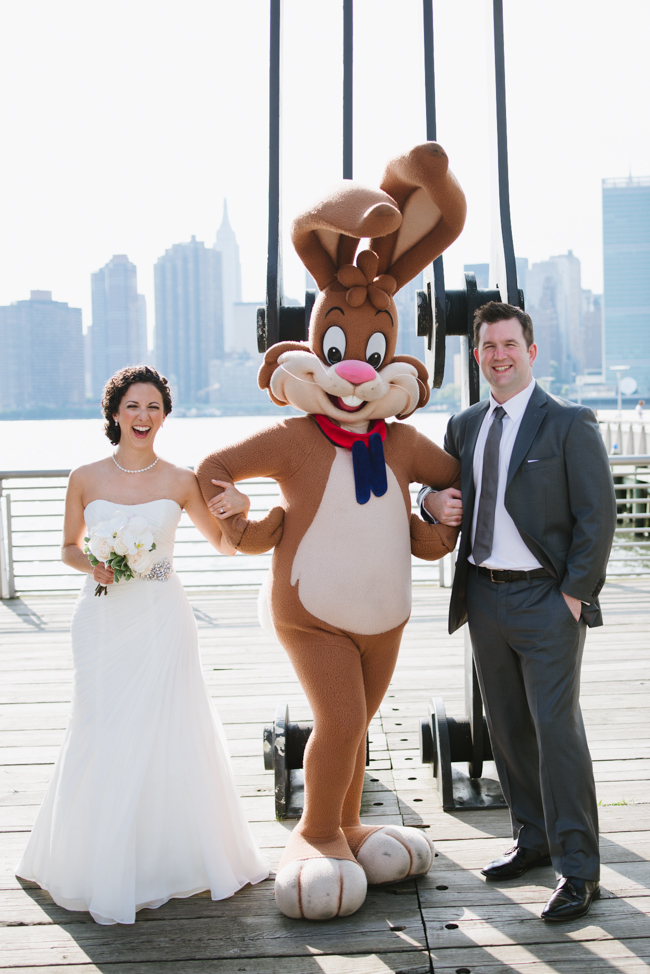 couple with Nestle bunny, LIC