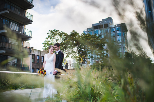 nyc highline wedding