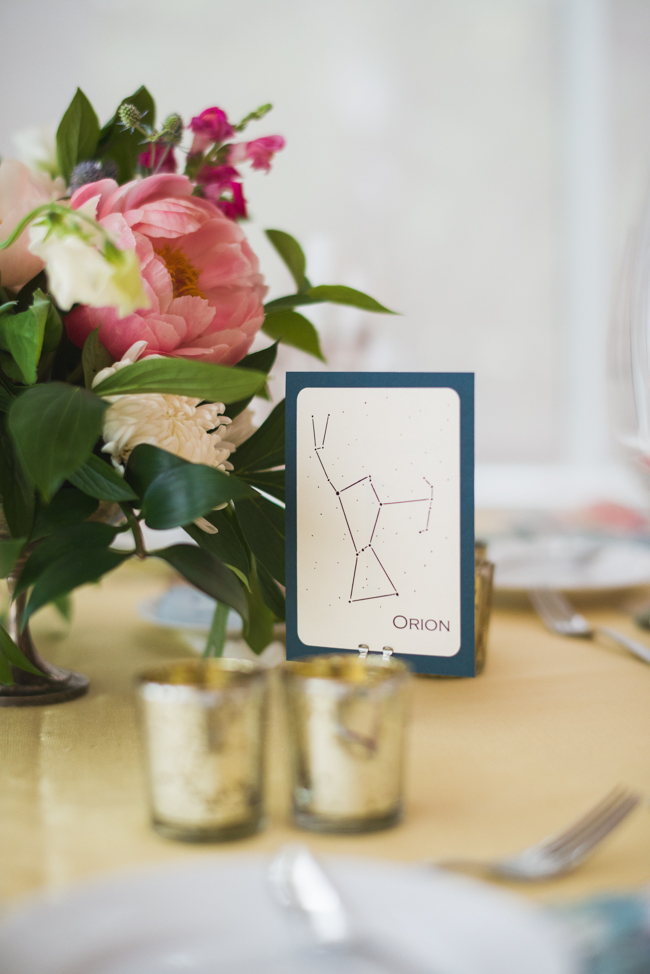 constellation wedding details