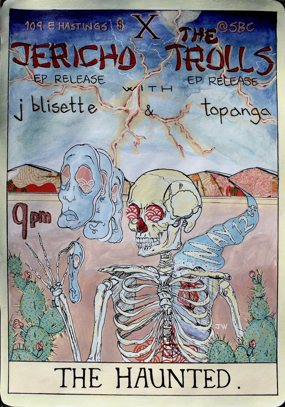 Existential Skeleton Poster