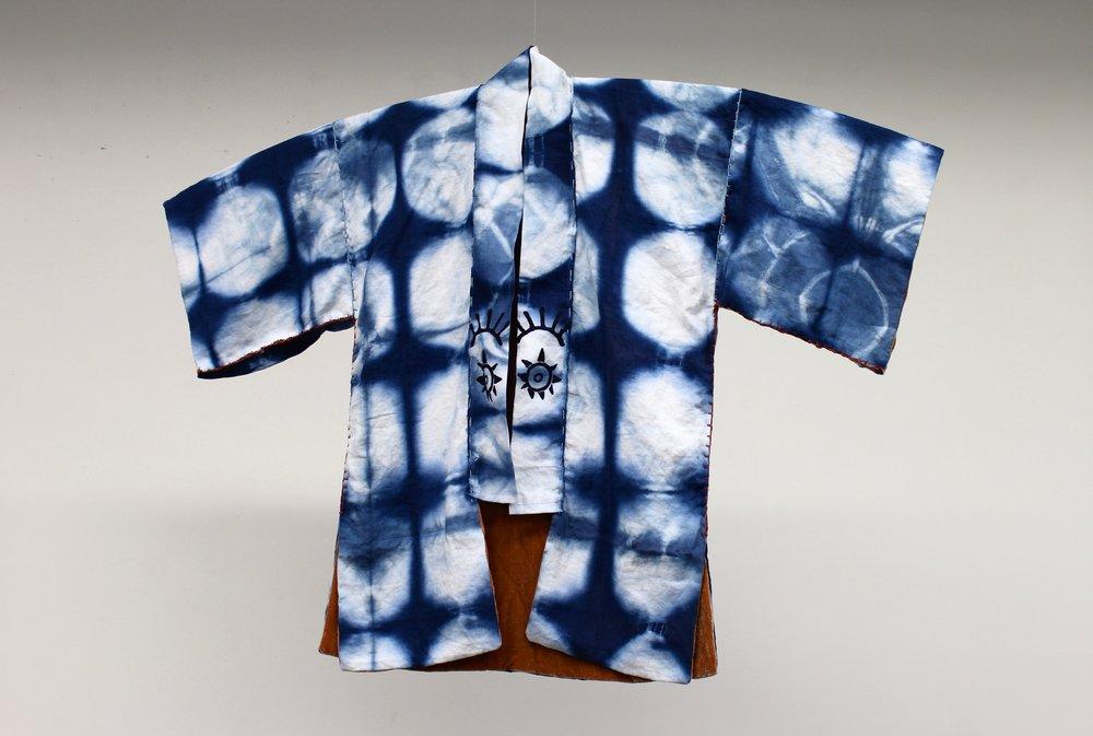 Shibori Overcoat (Front)