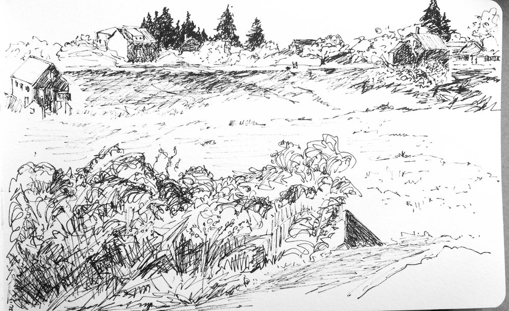 Monhegan - View from the Hill