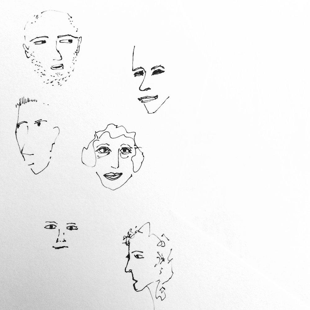 Sketchbook Faces II