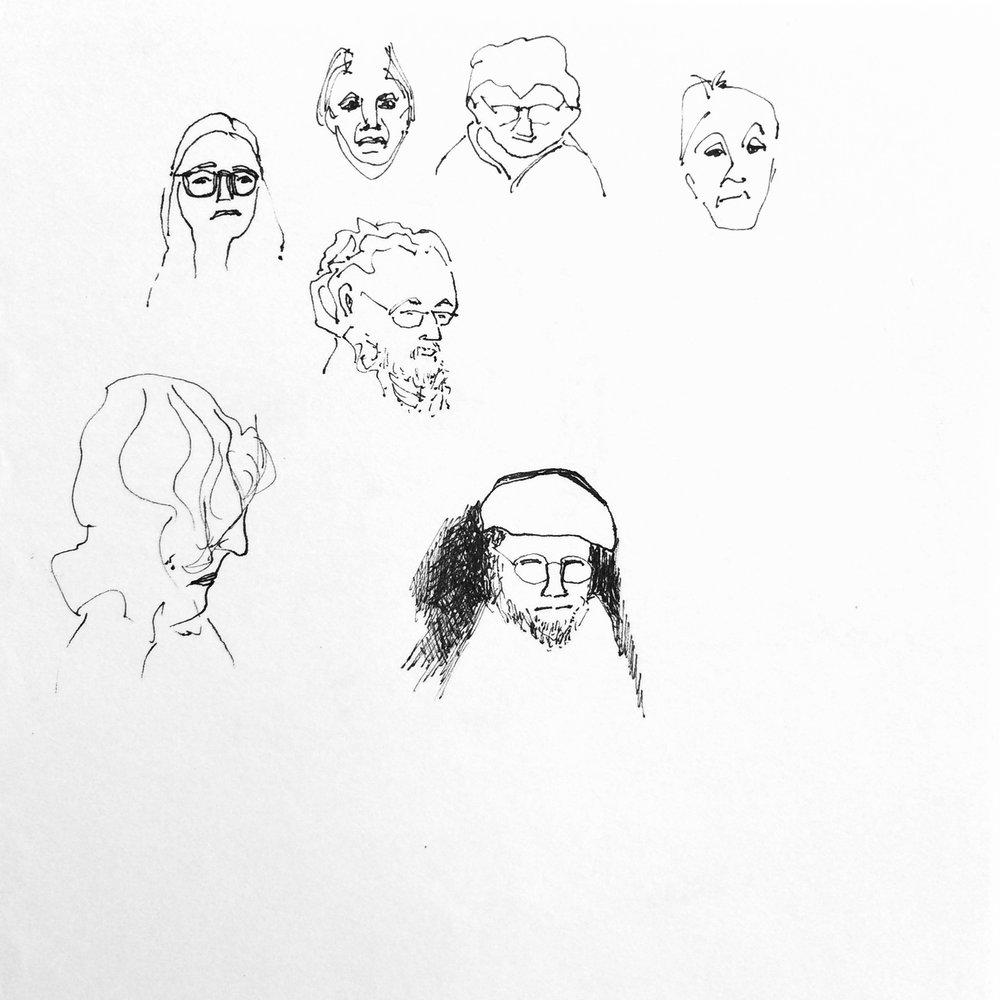 Sketchbook Faces III