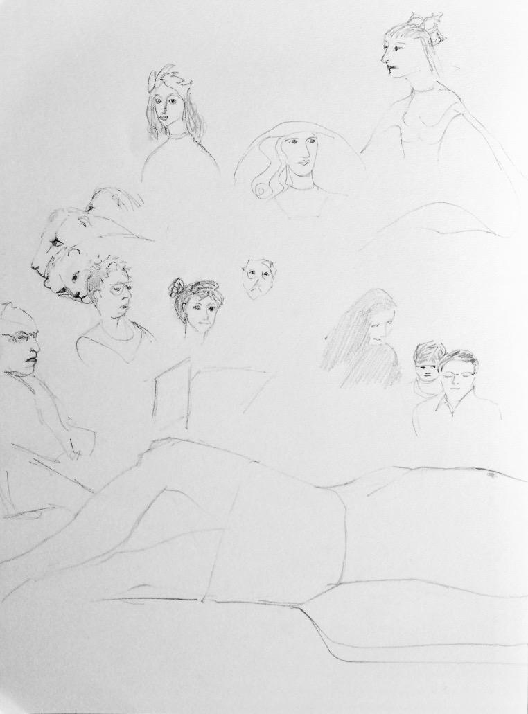 Life Drawing at the MFA
