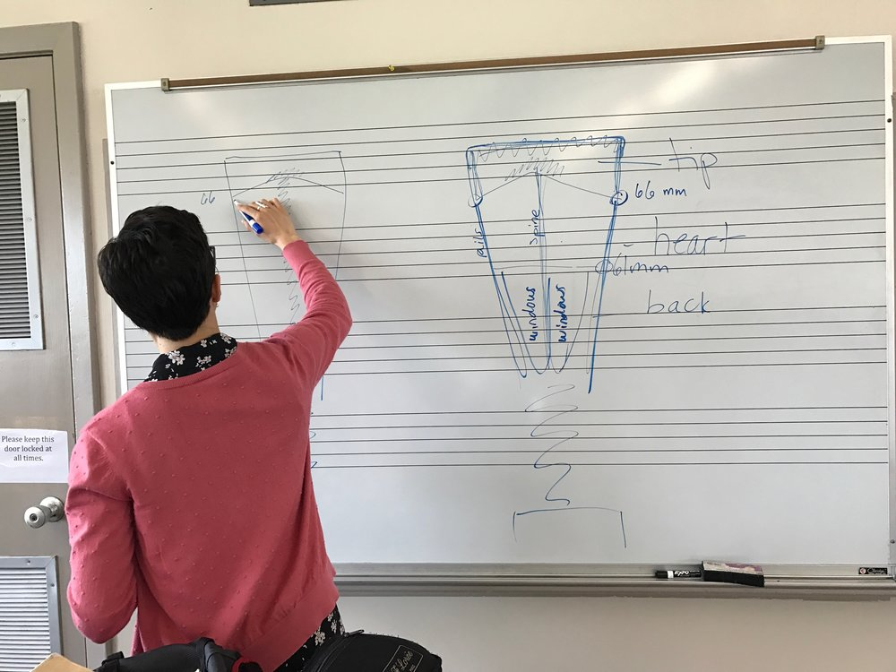Measurements are important! 2017 Southern Miss Oboe Day
