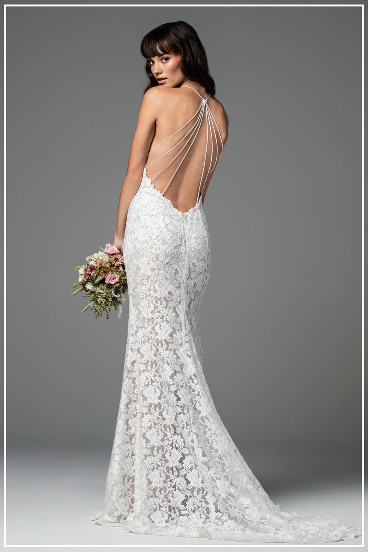 Backless Bride To Be Couture
