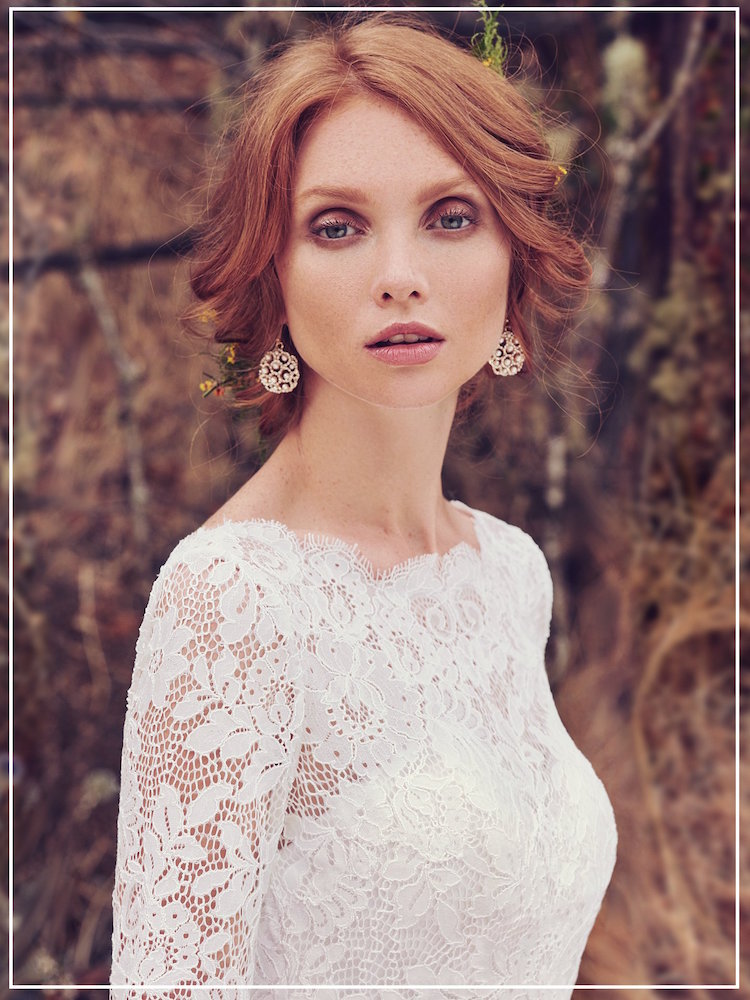Taking romantic elements from past eras, vintage wedding dresses use details like luxe antique lace and swirling beadwork to create truly unique gowns. -