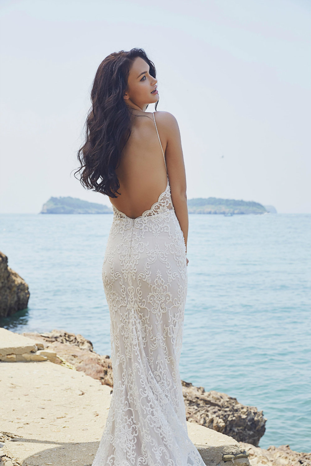Backless Wedding Dresses | Chic Nostalgia Lennox | Available at Bride To Be Couture