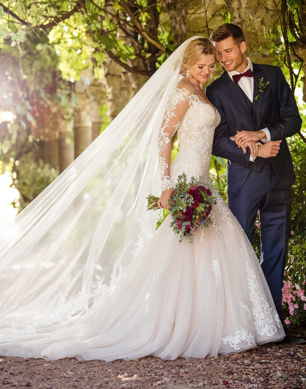 Wedding Dresses with Sleeves | Inventory # 01762 | available at Bride To Be Couture | 6040 Fair Oaks Blvd. Carmichael, CA 95608 | 916.972.8223 | @bridetobecouture
