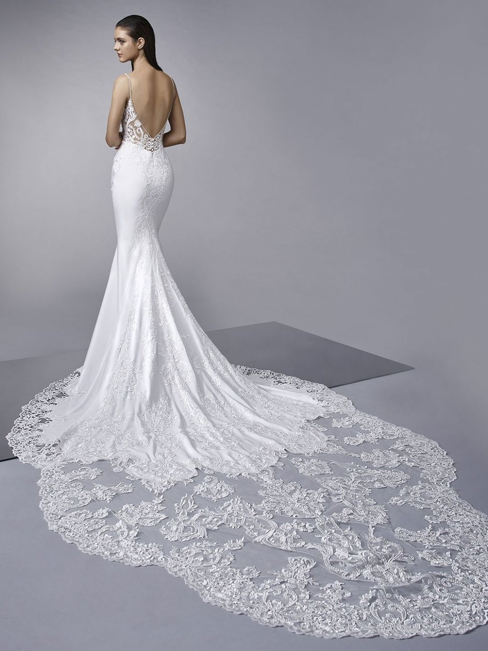 Year after year, lace wedding dresses remain a staple and today's gowns are no exception. Lace is a stunning fabric that feels classic yet modern in design. -