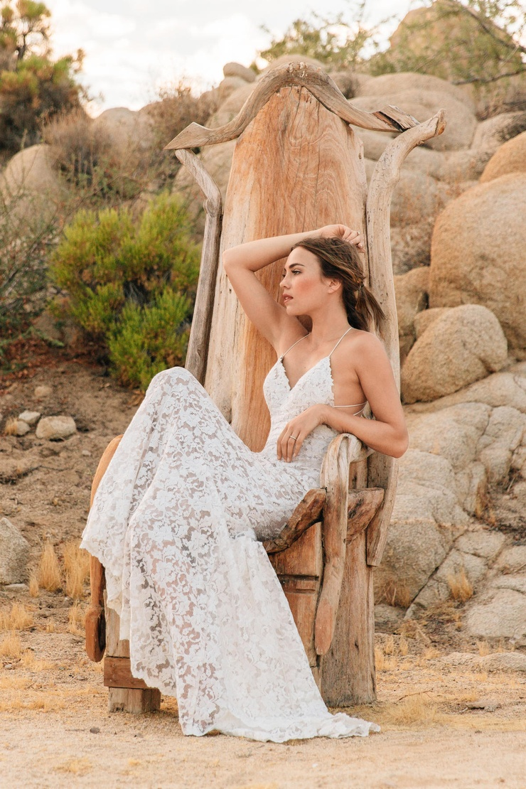 Boho wedding dresses aren't just a trend for the free spirited bride! Lovely laces, textured beading and airy tulle all come together to create bespoke pieces that any bride can say