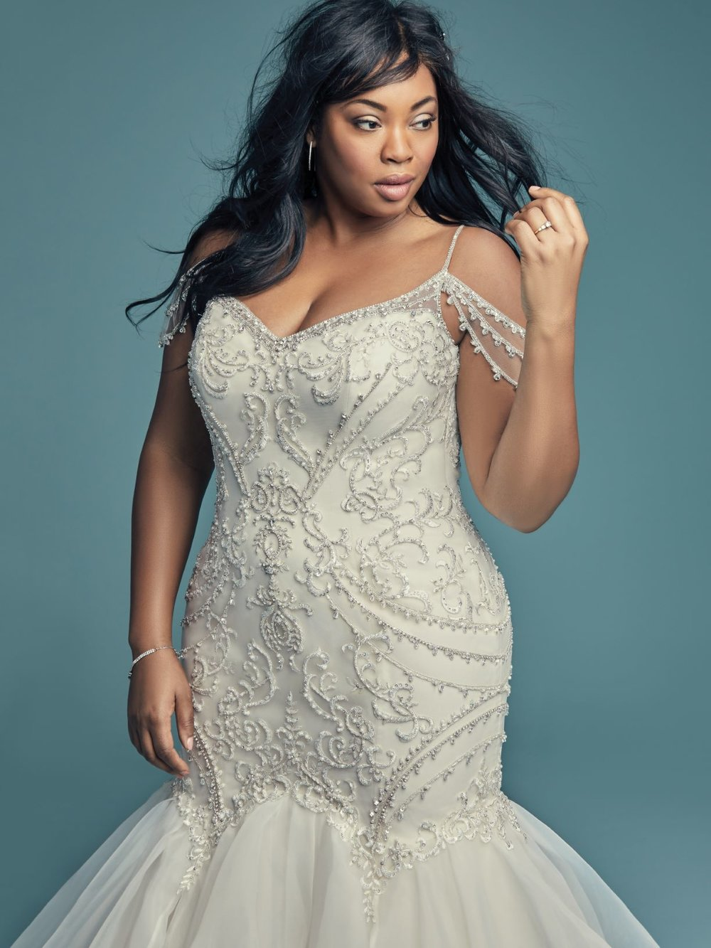Plus Size Wedding Dresses - From Romantic A-Line wedding gowns to fabulous Fit and Flare bridal styles, the Plus Size wedding dress of your dreams await - no matter your size!