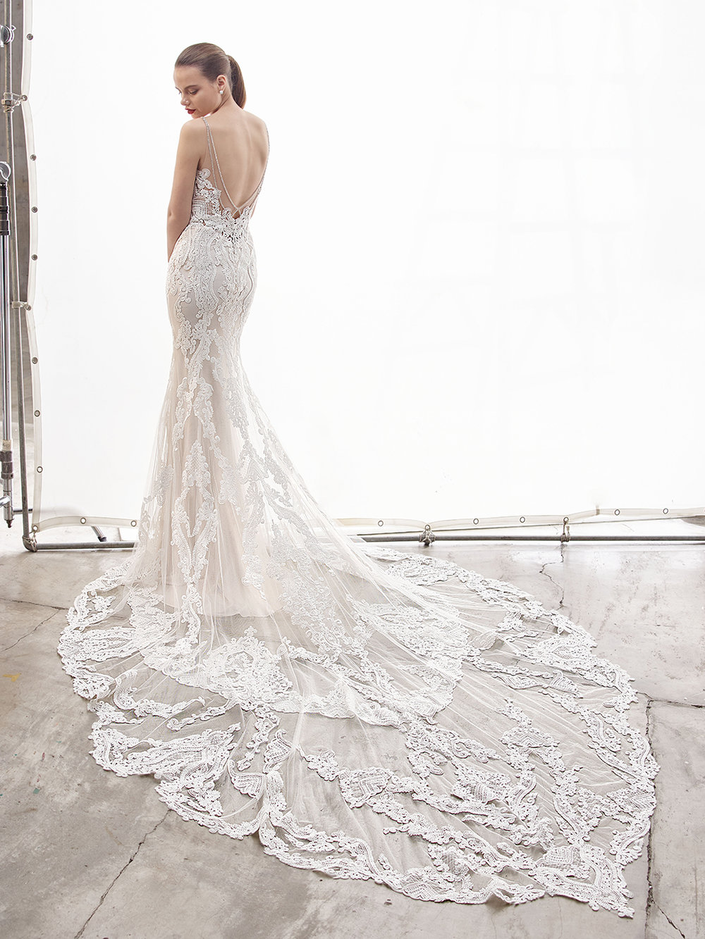 LACE WEDDING DRESSES - Year after year, lace wedding dresses remain a staple and today's gowns are no exception! Lace is a stunning fabric that feels classic yet modern in design.