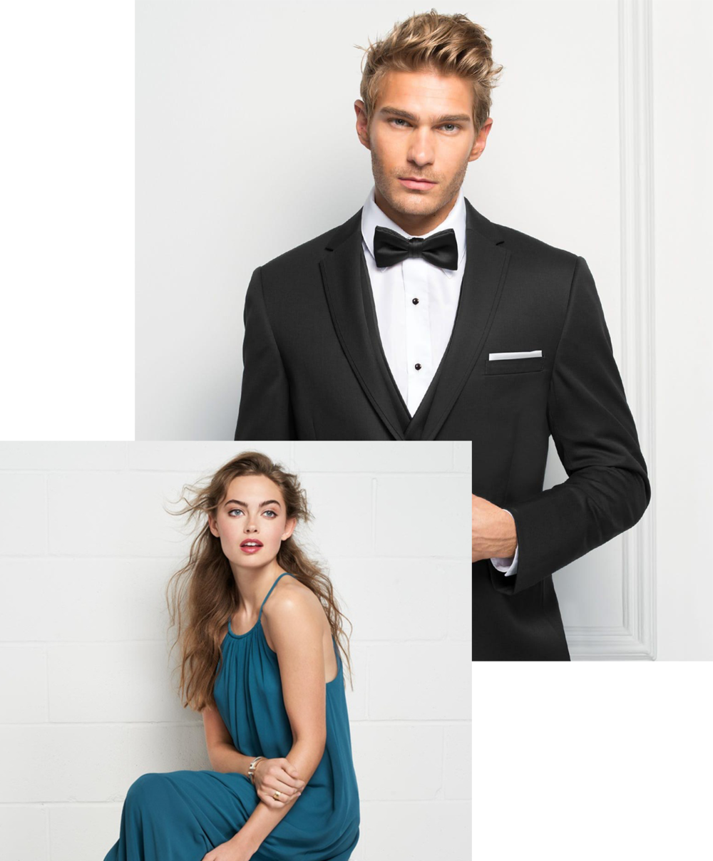 outfit your entourage - We'll have your crew looking (almost) as good as you do.