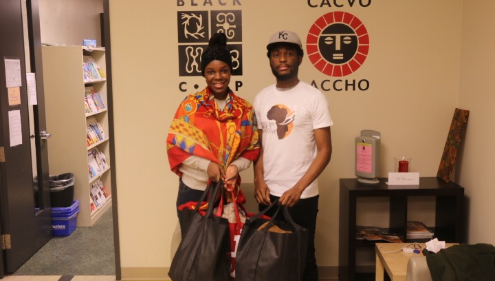 - Every academic year, we execute a community impact project targeted at the African community in Canada. Our inaugural project was the 2016 Christmas drive, where we gathered and donated clothing items to patients at the African-Caribbean Centre for HIV & AIDS in Toronto.