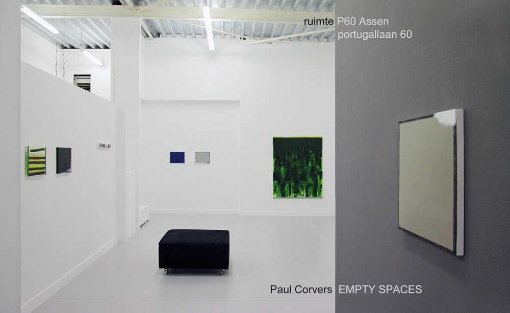 PAUL CORVERS   EMPTY SPACES  2016 november