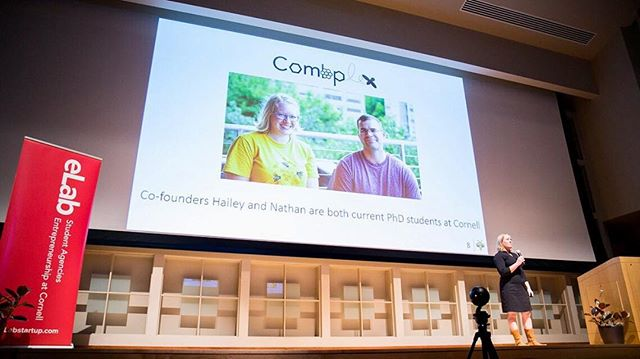 We are excited to announce that Combplex was named Cornell Student Business of the Year!  Thank you to everyone! ———————————————————-http://news.cornell.edu/stories/2018/04/students-display-entrepreneurial-spirit-competitions ———————————————————-#bees #combplex #cornell #cornellentrepreneurship