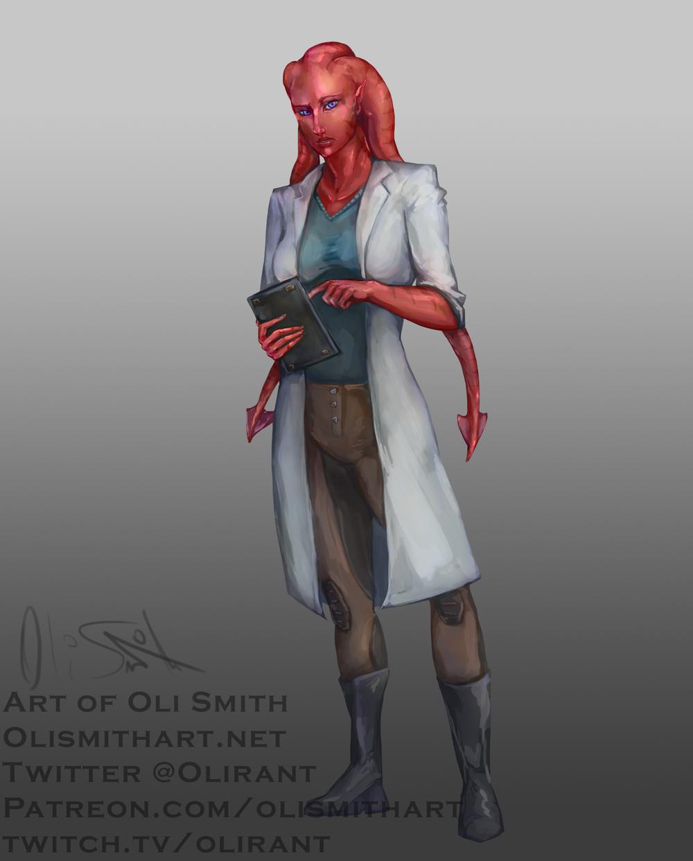 A Du'lak Scientist