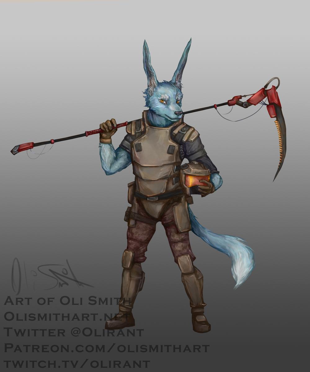 A Frayan Mercenary