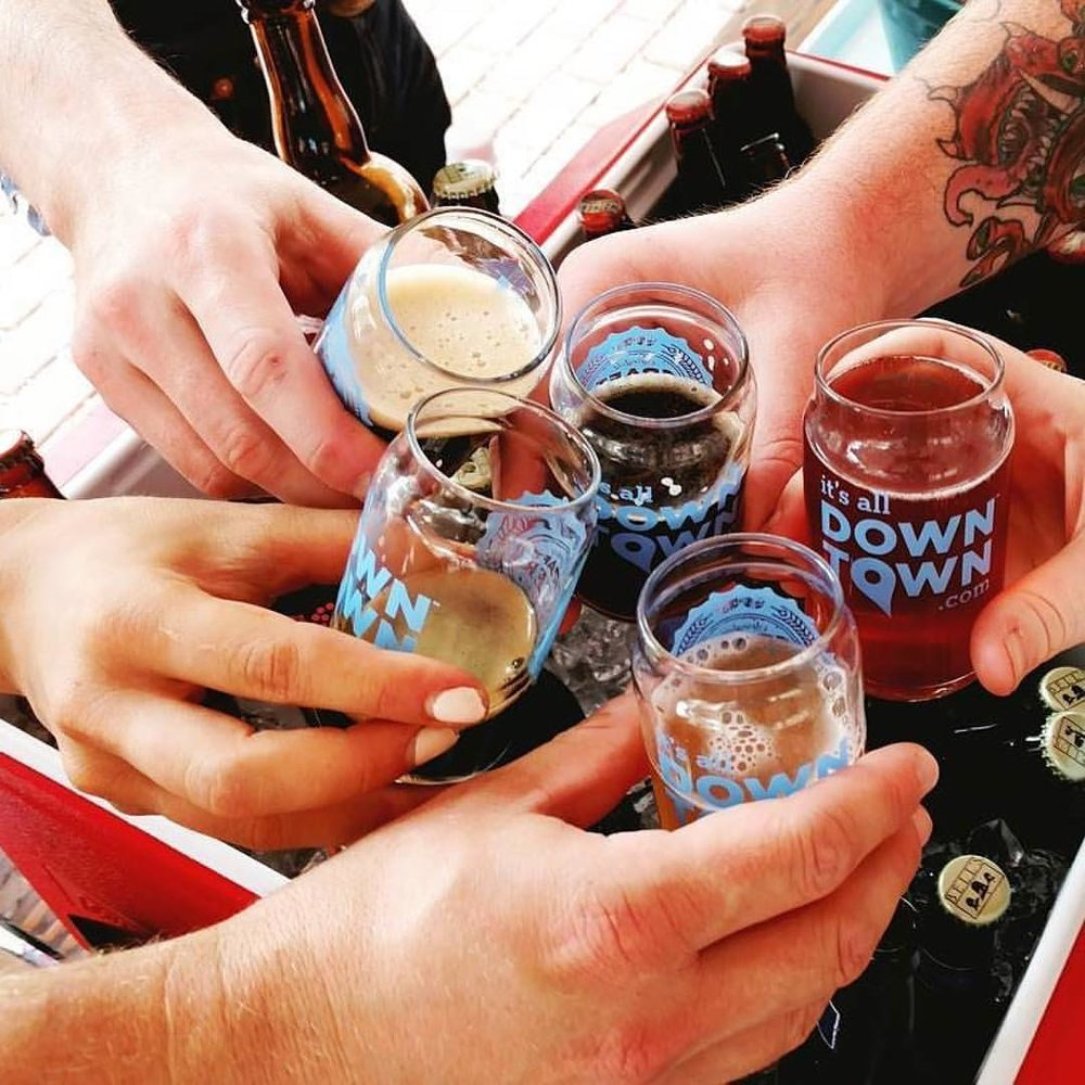 Share a sip and a toast with fellow craft beer enthusiasts!