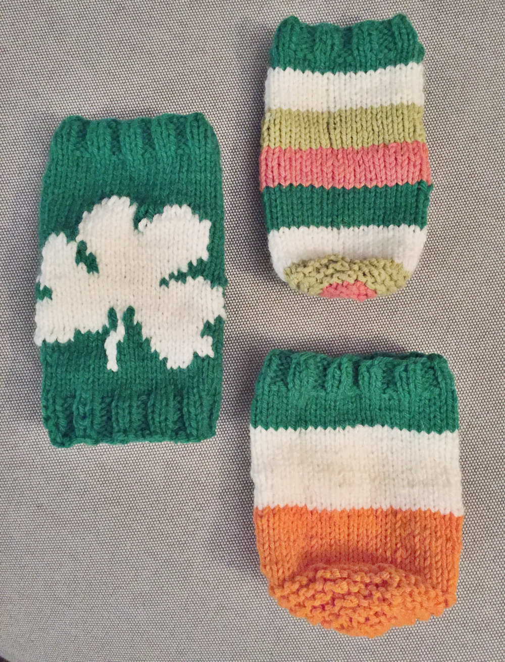 st. patrick's day beer coozies -