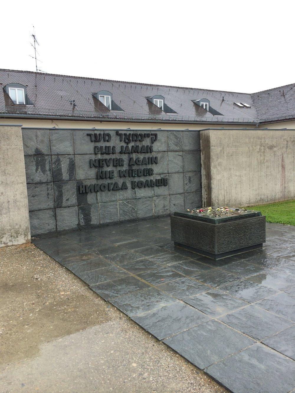 never again memorial dachau
