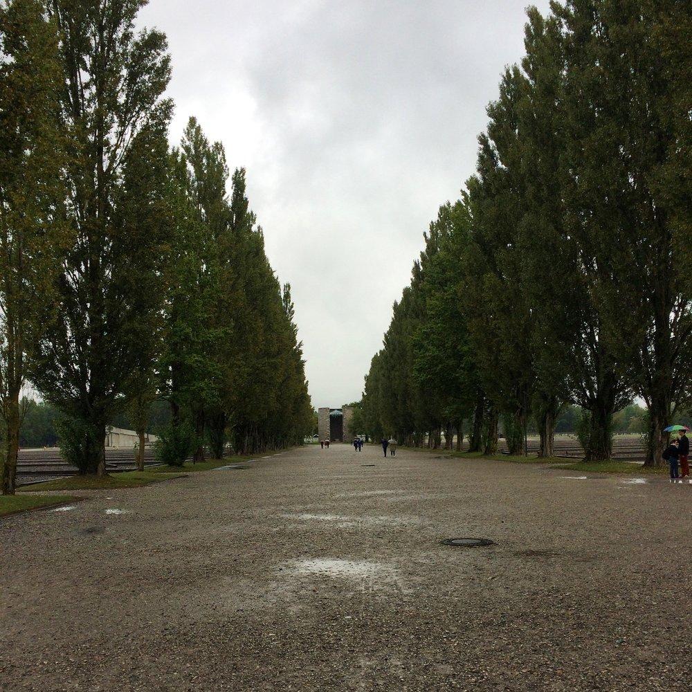 camp road dachau