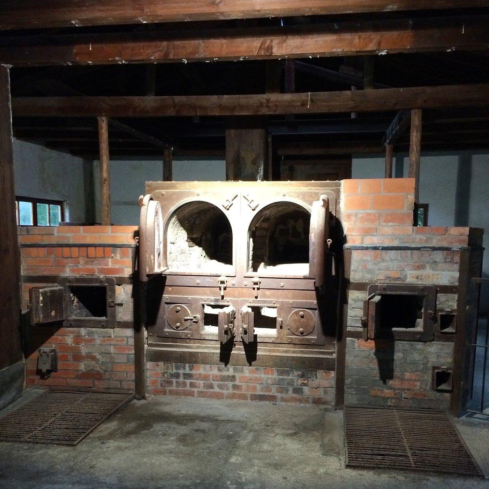 old crematorium dachau