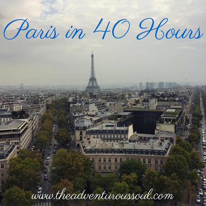 paris in 40 hours
