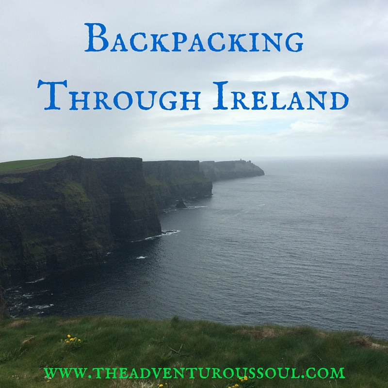 backpacking through ireland