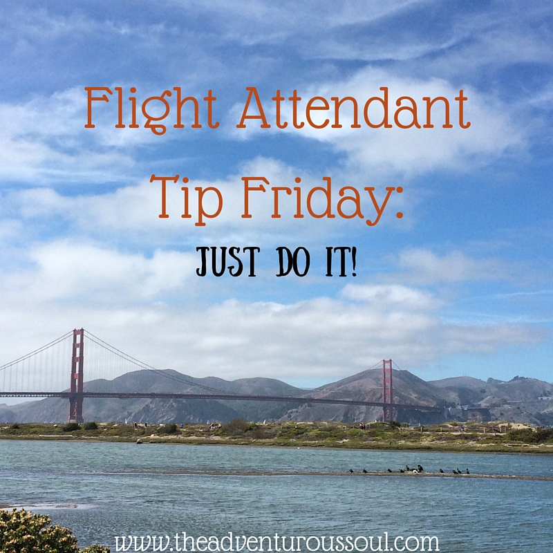flight attendant tip friday