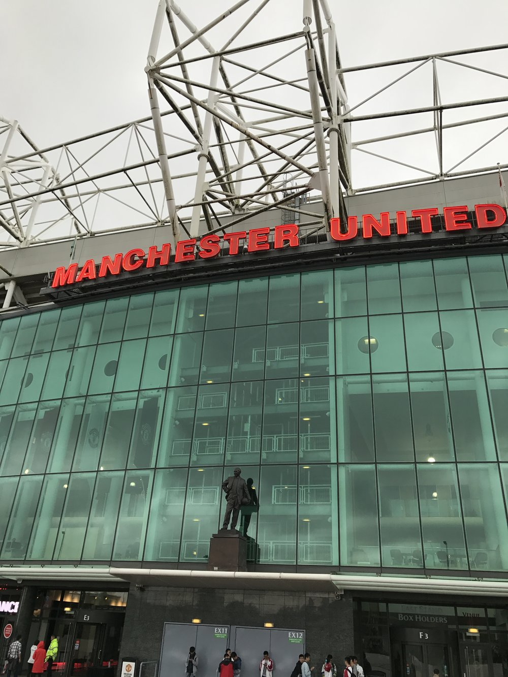 Old Trafford. The Theatre of Dreams.