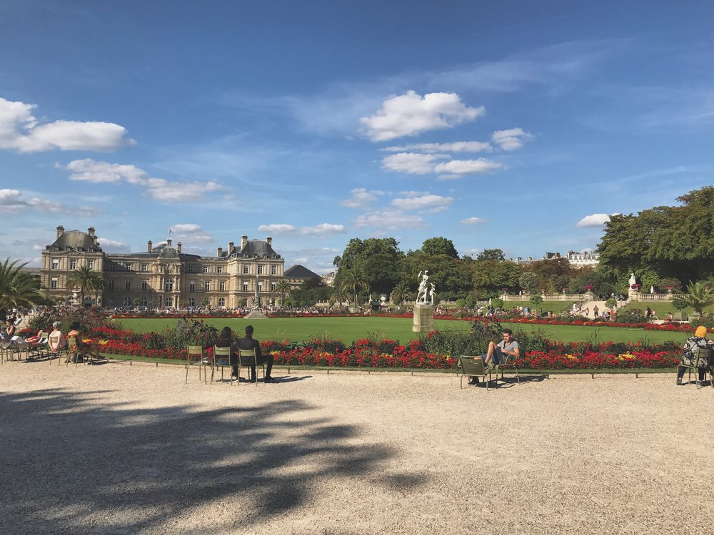 Jardin du Luxembourg Paris France Parks