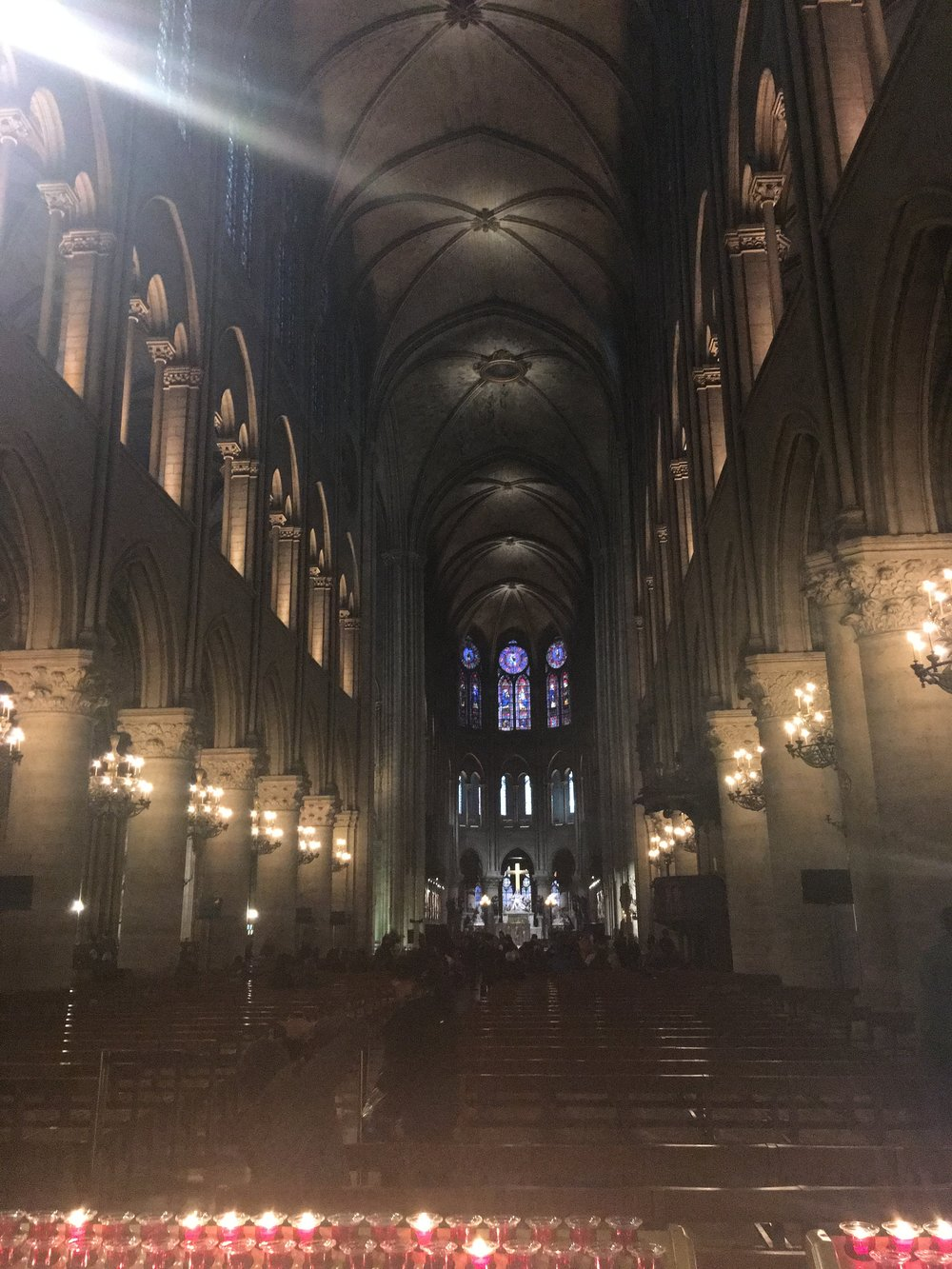 I love coming to Notre Dame to get some quiet time and reflect on things.
