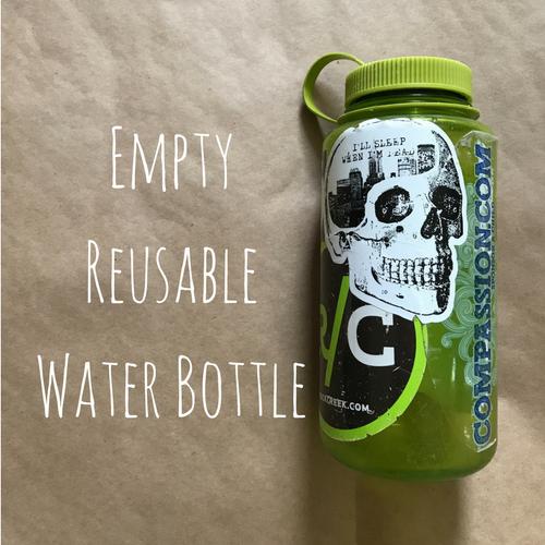 women's travel essentials water bottle
