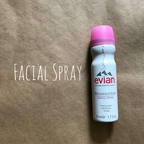 women's travel essentials facial spray