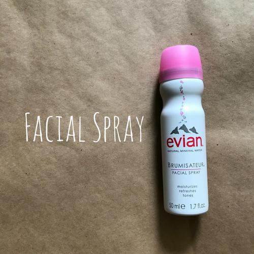 women's travel essentials facial spray