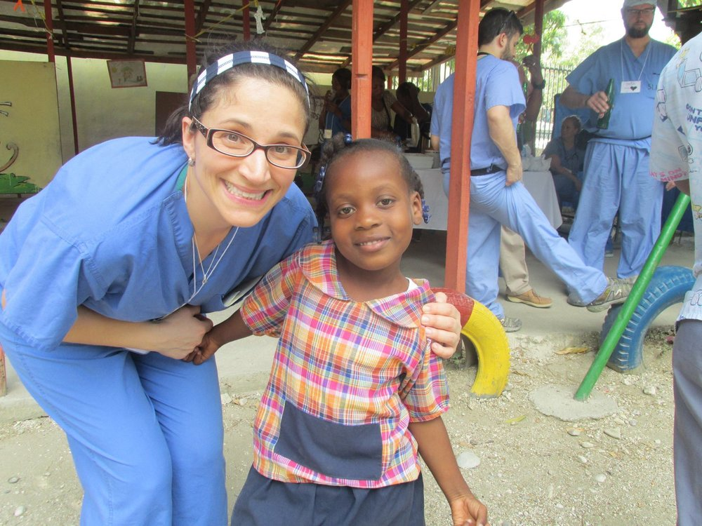 Sharing Jesus's Love in Haiti