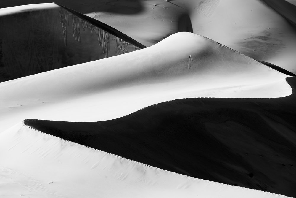 Eureka Dunes   by Jim Long awarded Honors in Photorealistic