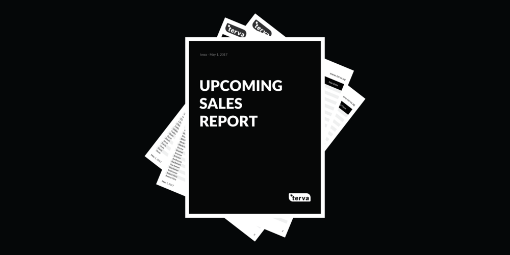 May - Upcoming Sales Report