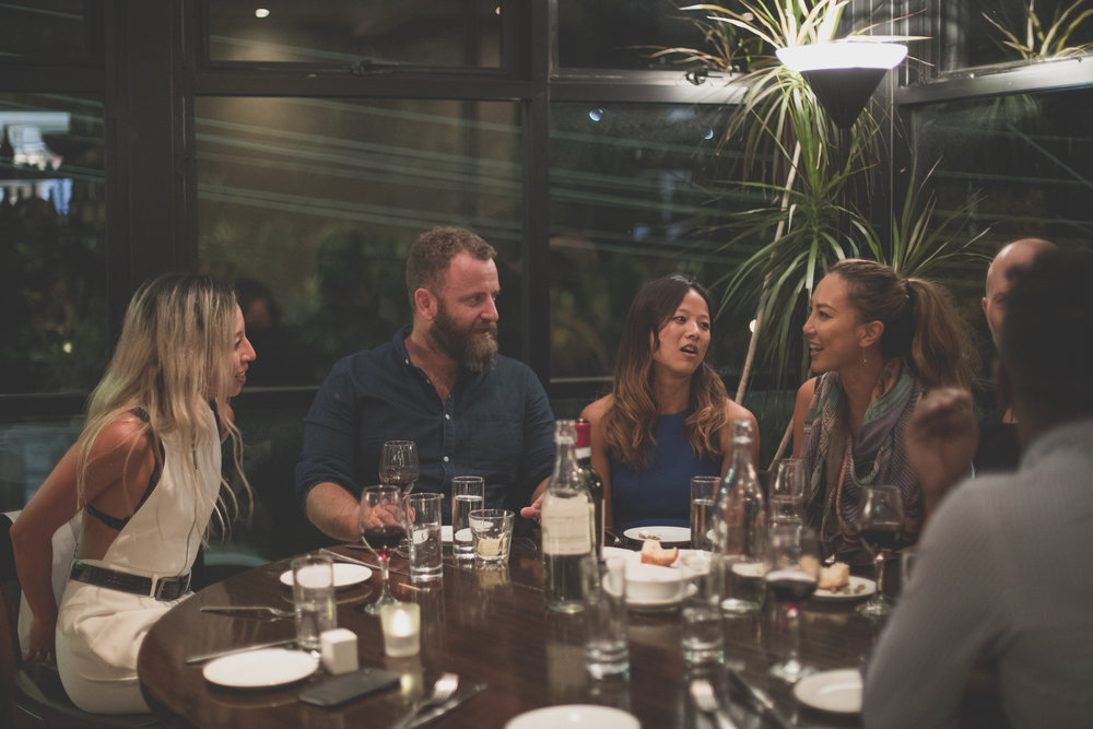At our tables, people share, learn, laugh out loud, - and sometimes, have life-changingencounters that change everything.If you want to come along to dinner, there's a seat at the table with your name on it - all you have to do is book.See you there,Ben