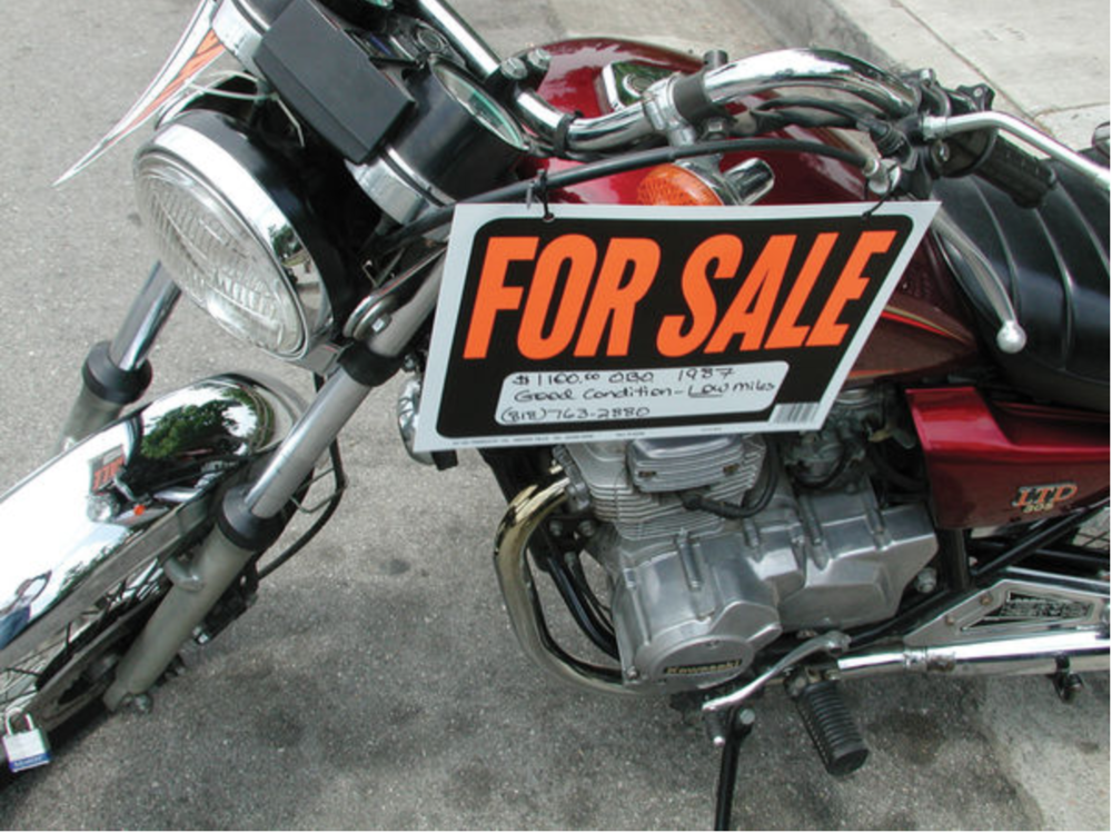 Buying a used motorcycle?